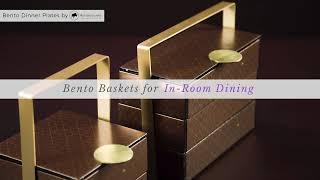 Tiered Bento Box Basket