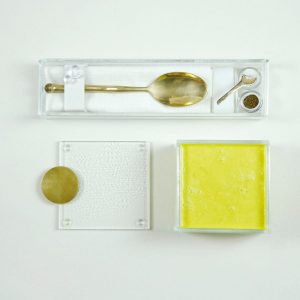 Square Soup Bowl with Lid