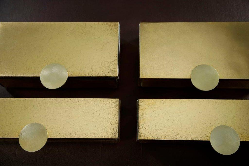 Gold bento box