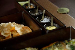 Brown bento box