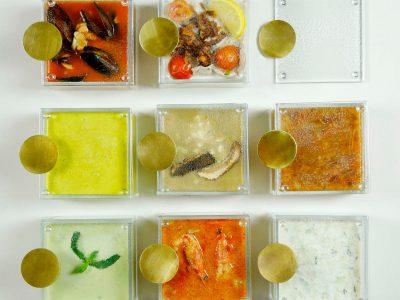 Glass soup bowl