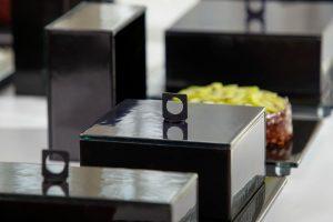 Square Glass Cloche - Medium