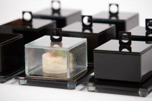 Square Glass Cloche - Small