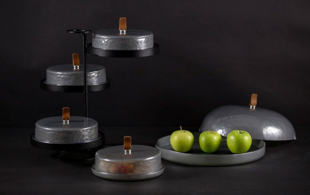 Cake Stand and Dome with Dome Plate Covers