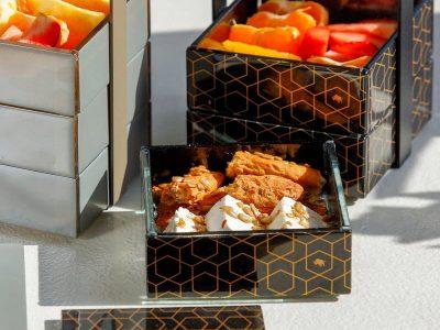 Hotel food amenities - Bento box